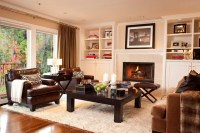 Hilltop Delight - Traditional - Family Room - portland ...