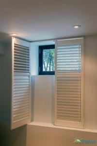 Wooden Shutters - Modern - Basement - toronto - by RoseSun ...