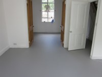 Grey Poured Resin Flooring installed throughout London ...