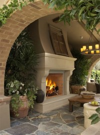 5 Unique Cast Stone Fireplace Installations-Old World ...