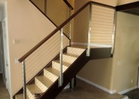 Contemporary Interior Stair Rails | Joy Studio Design ...