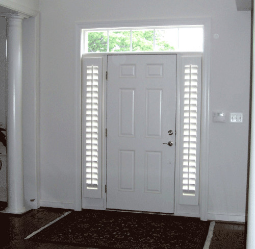 Privacy sidelights