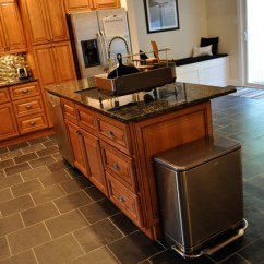 Diy Kitchen Island With Seating How To Design A Marquis Cinnamon Center - Traditional ...