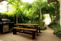 Guest House Garden Make Over - Tropical - Patio - other ...