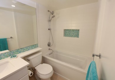 From Mid Century To Contemporary Kids Bathroom