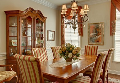 Country Dining Room Table And Chairs