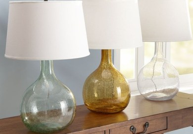 Pottery Table Lamps