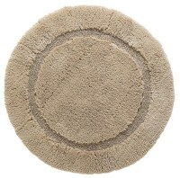 Reversible Round Resort Bath Rug - Traditional - Bath Mats ...