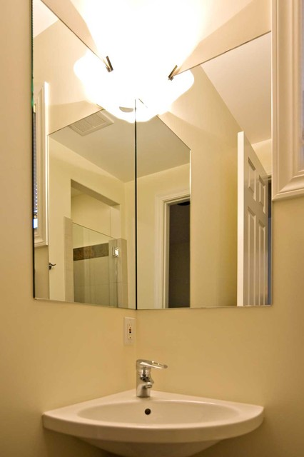 Corner Bathroom Mirrors