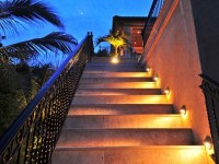 Outdoor Step Lights - Tropical - Stair And Step Lights ...