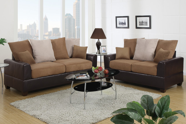 los angeles sectional sofa walmart reclining saddle microfiber leather couch loveseat living room ...