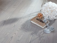 Ash Silvery - matte lacquer hardwood flooring ...