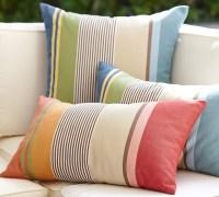 Hawthorne Stripe Indoor/Outdoor Lumbar Pillow ...