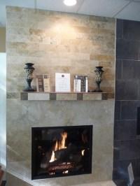 Irox Travertine Fireplace - Contemporary - philadelphia ...