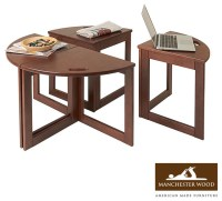 Multipurpose Coffee Table Nesting Set of 4 by Manchester ...