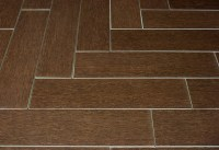 Mahogany Wood Plank Porcelain - Modern - Wall And Floor ...
