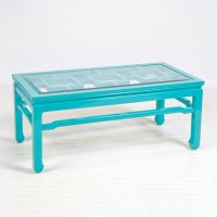 Changright Turquoise Coffee Table - Contemporary - Coffee ...