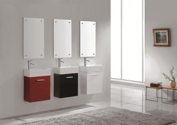 Small Modern Bathroom Sink Cabinet - Bathroom Design