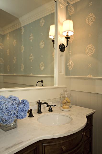 Powder Room  Traditional  Powder Room  raleigh  by Driggs Designs