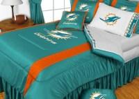 Best 28+ - Miami Dolphins Comforter Set - new 4pc nfl ...