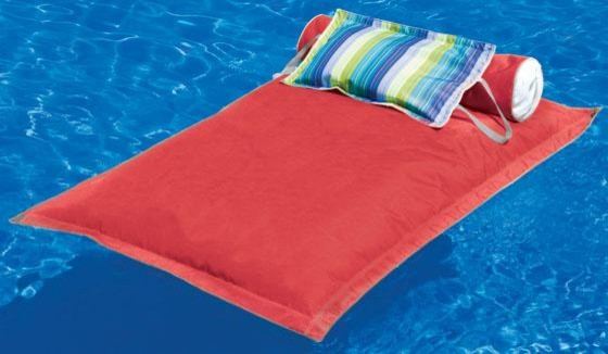 Pillowtop Pool Float  Traditional  Pool Toys And Floats