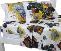 Monster Jam Full Sheet Set Monster Truck Destruction ...