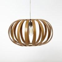 Bentwood Pendant, Oblong - Modern - Pendant Lighting - by ...