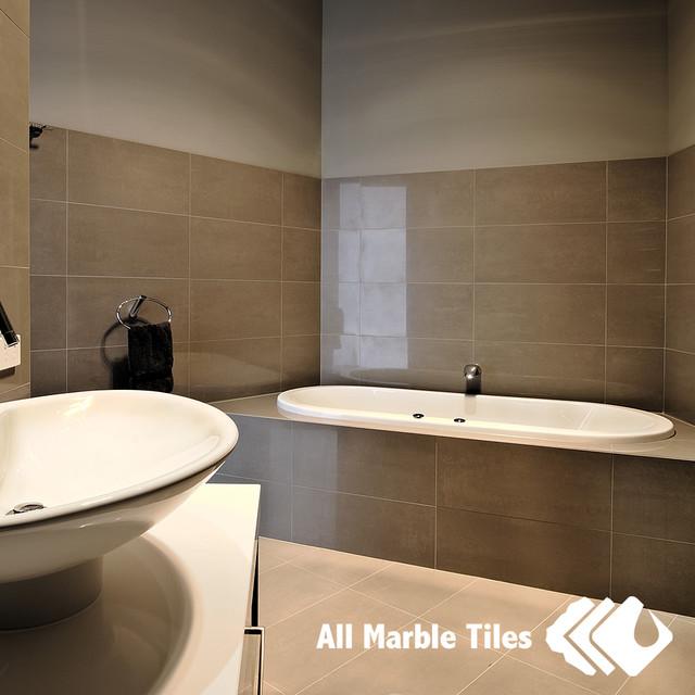 Bathroom Design Ideas With Porcelain Tiles  Contemporary