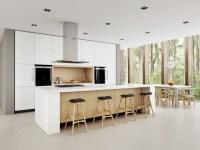 White Minimalist - Scandinavian - Kitchen - sydney - by ...