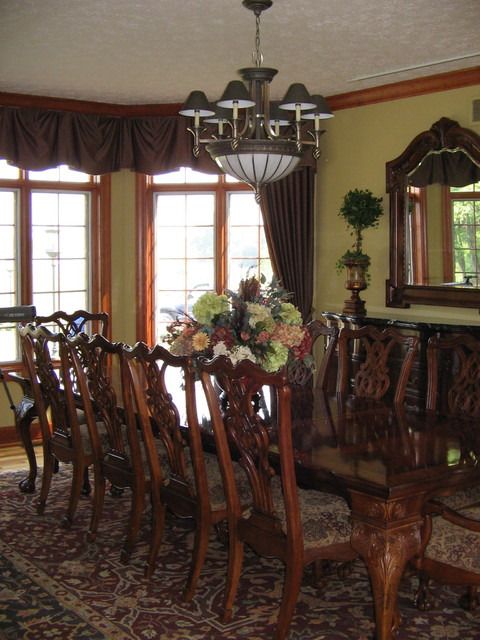 English Country Manor in Middletown  Traditional  Dining