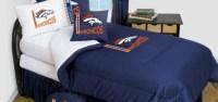 Denver Broncos Bedding - NFL Comforter and Sheet Set Combo ...