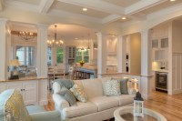 Classic Cottage - Beach Style - Living Room - other metro ...