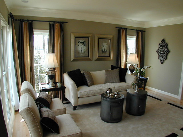 Photos Forest Manor Model Home Traditional Living Room Dc Metro