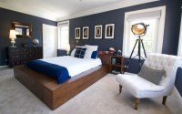 Contemporary Teen Boys Bedroom - Contemporary - Bedroom ...