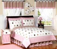 Sweet Jojo Designs Girls 'Dots' 4-piece Twin Comforter Set ...