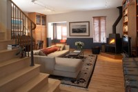 European Industrial Chic - Living Room - Traditional ...