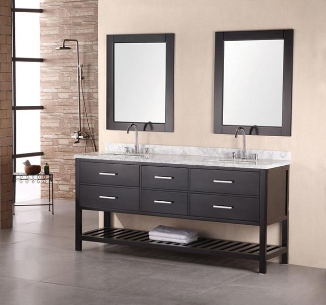 36 round kitchen table set pegasus faucet design element bathroom vanities - contemporary ...