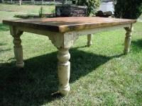Stockton Rustic Farm Table - Traditional - Kitchen ...