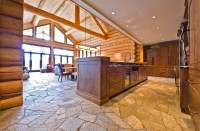 OKANAGAN LOG HOME - Rustic - Kitchen - other metro - by ...