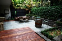 small patio in Melbourne