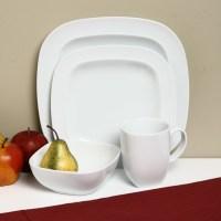 Denby White Square 16-piece Dinnerware Starter Set ...