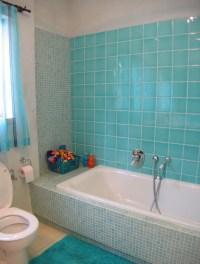 Turquoise bathroom - Mediterranean - Bathroom - other ...
