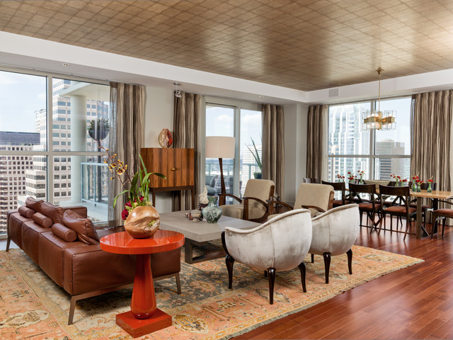 Downtown Eclectic  Eclectic  Living Room  austin  by