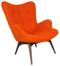 Mid-Century Modern Arm Chairs - Contemporary - Armchairs ...