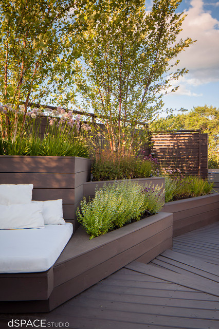 tiered landscape planters