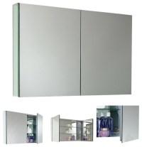 Fresca Large Bathroom Medicine Cabinet w/Mirrors - Modern ...