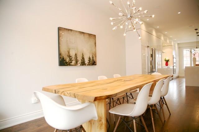 East end Modern Kitchen modern dining room