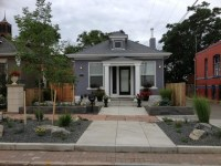 Landscaping: Urban Front Yard Landscaping Ideas