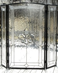 Fleur De Lis - Traditional - Fireplace Screens - dc metro ...