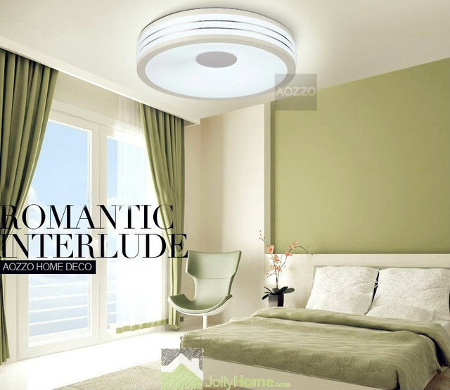 LED Bedroom White Round Ceiling Lights  Modern  other